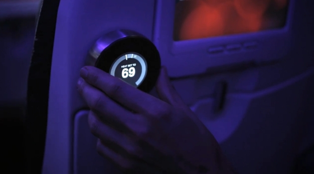 Virgin America's New Feature: Total Temperature Control By Nest