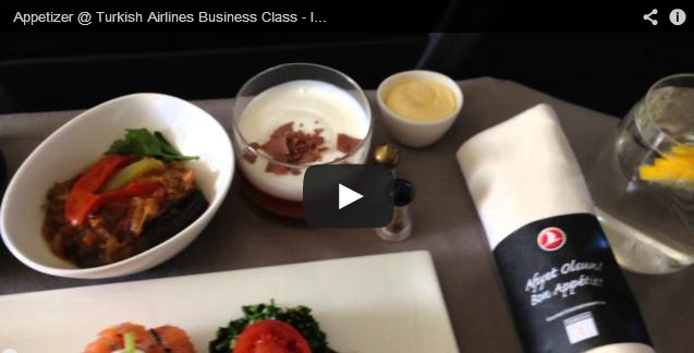 Appetizer @ Turkish Airlines Business Class