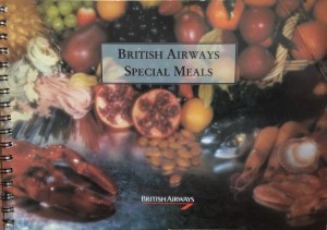 British Airways_Special Meal_Catalogue_1992