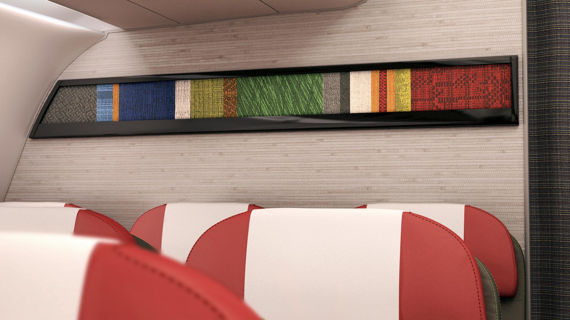 LATAM_new cabin design_Airbus A320_short-haul fleet cabin_wall