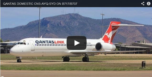 Qantas Domestic CNS-AYQ-SYD