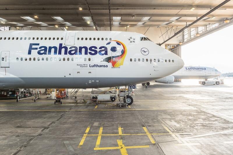 Lufthansa - Fanhansa - World Cup 2014