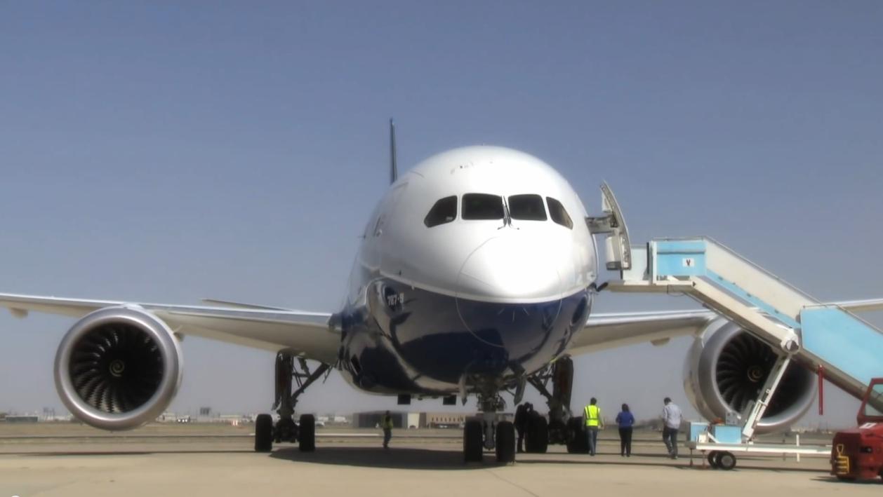 Boeing 787 wind test