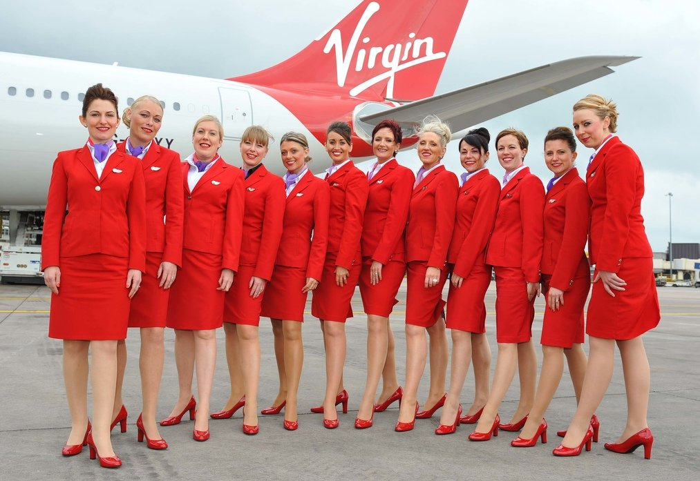 Virgin Atlantic_uniform_archive_john_rocha