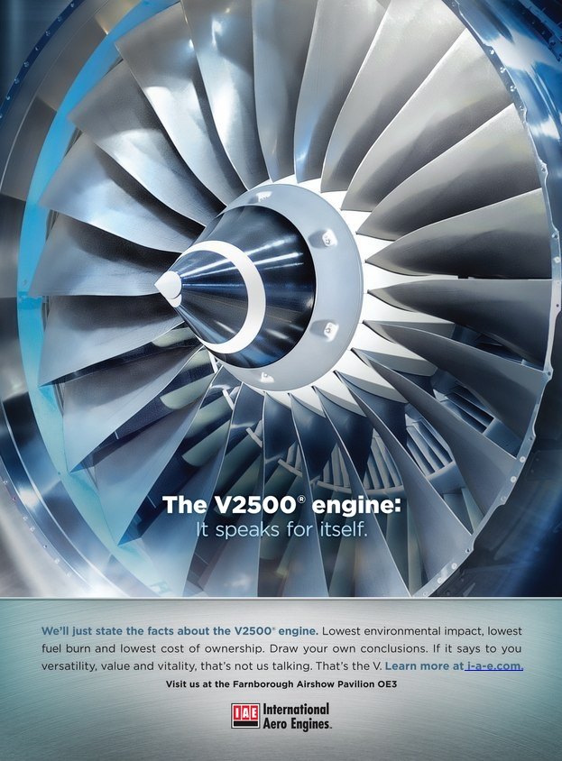 IAE - The V2500 Engine It speaks for itself