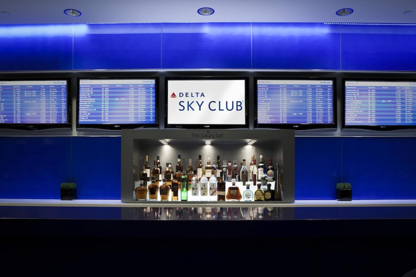 Delta Skyclub JFK T4