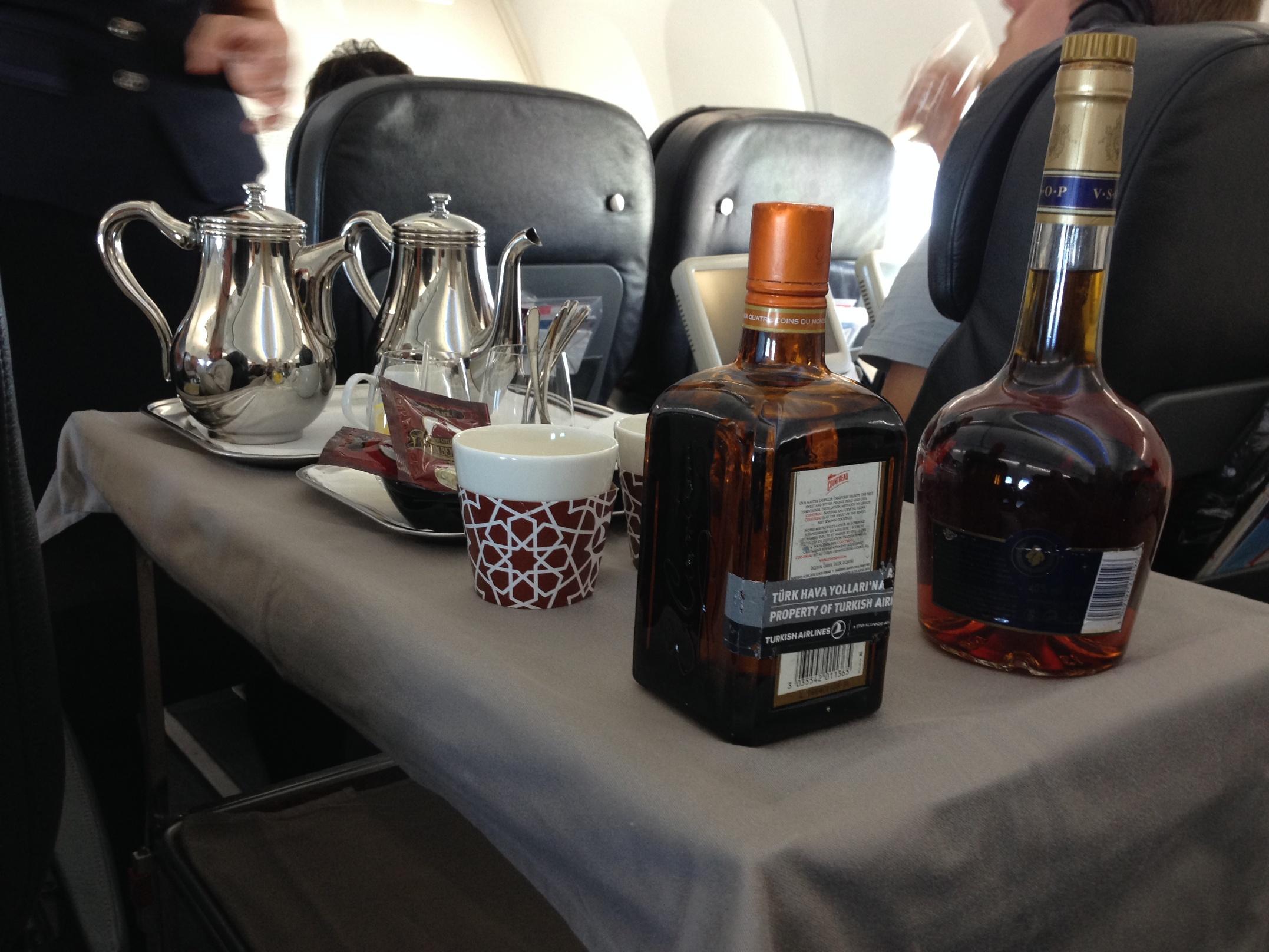 Turkish Airlines_inflight food_Istanbul Srajevo Business Class_2014-003