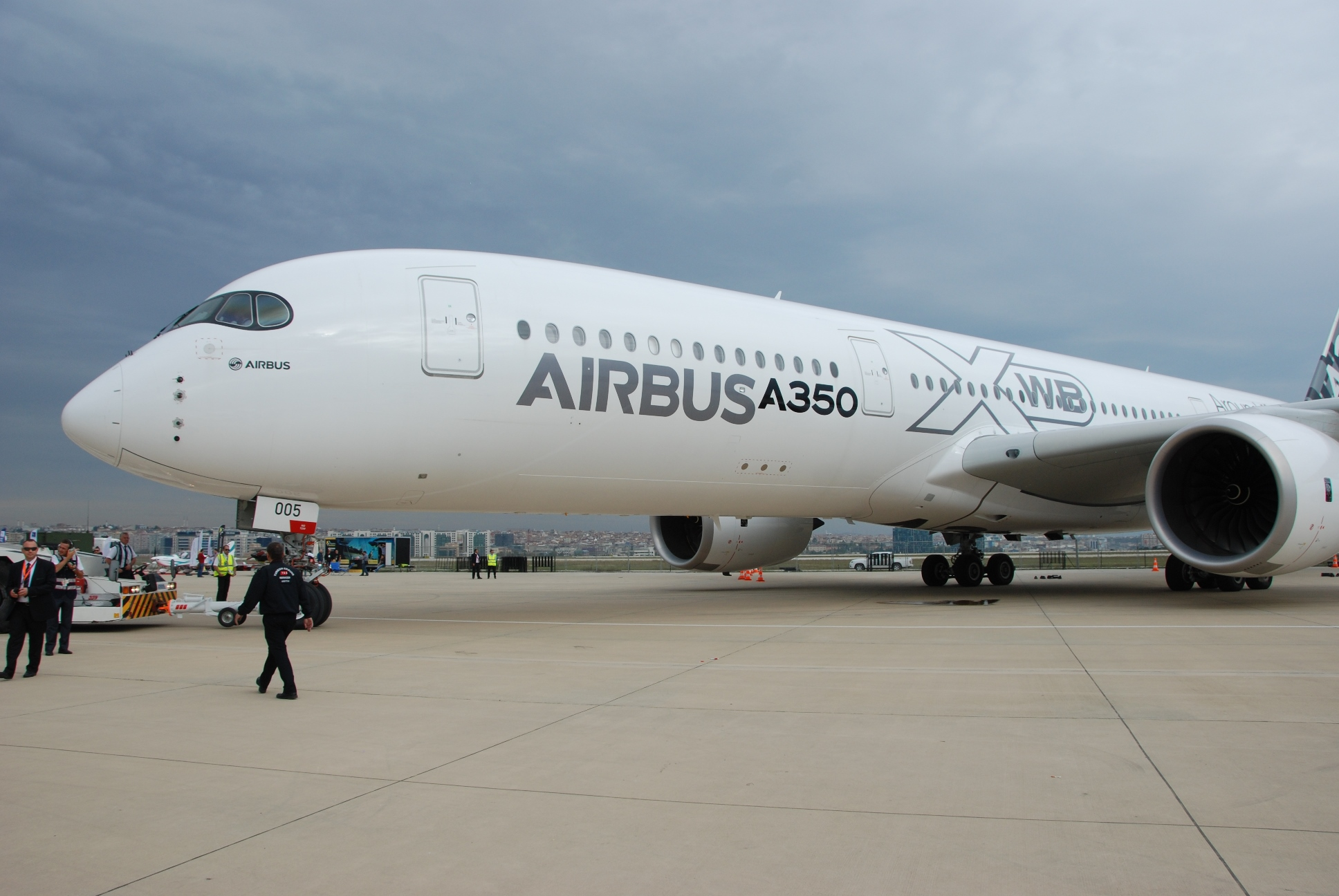 Airbus A350 @Istanbul Airshow_Sep 14_Havayolu 101