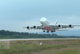 Emirates A380 in FRA