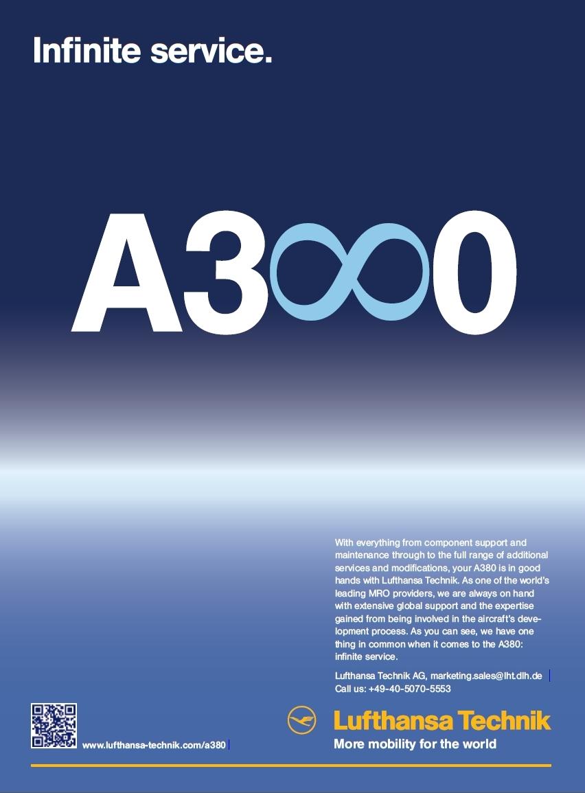 Lufthansa Technik - Airbus A380 - Infinite service