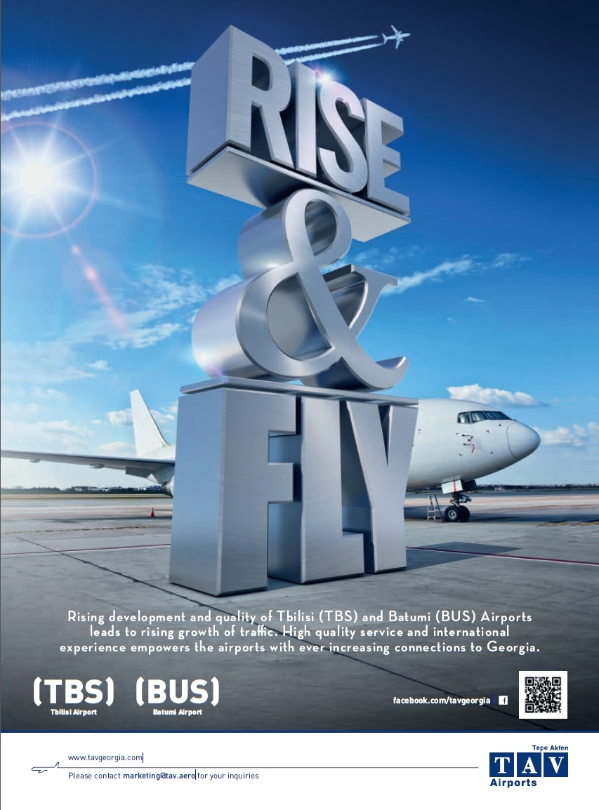 TAV Airports_Rise and Fly_TBS_BUS_Oct 2014