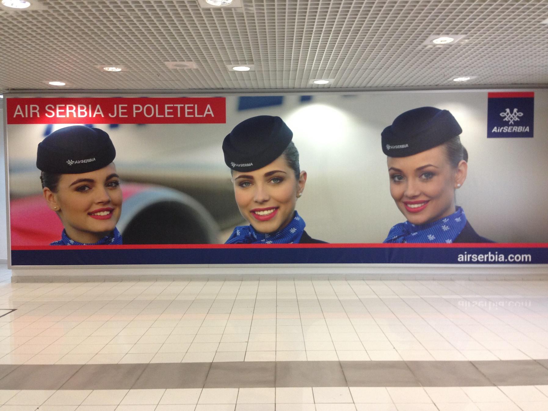 Air Serbia Je Poletela