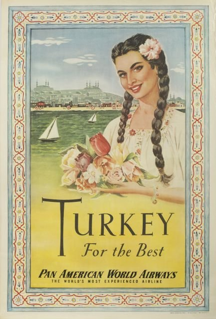 Pan American_Turkey for the best_vintage_poster