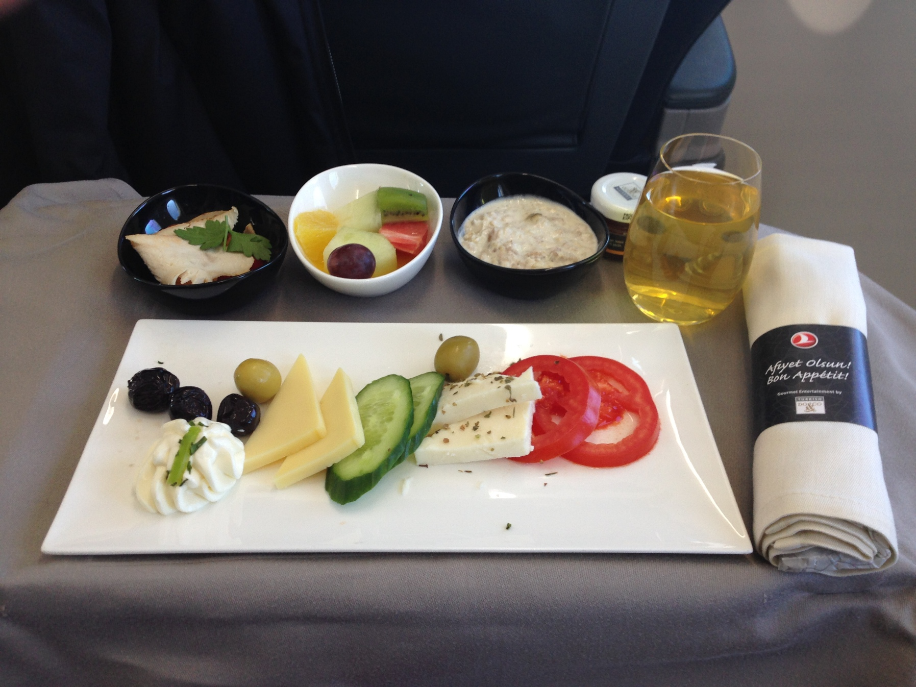 Turkish Airlines_THY_Inflight Food_IST-BEG_Business Class_Nov 2014_001