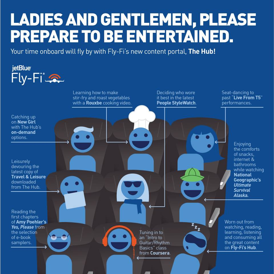 jetblue - Ladies and Gentlemen, Please Prepare to be Entertained