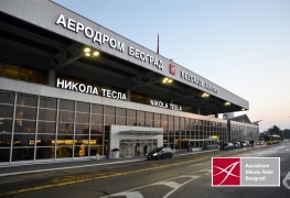 Belgrade_Nikola Tesla Airport_main entrance