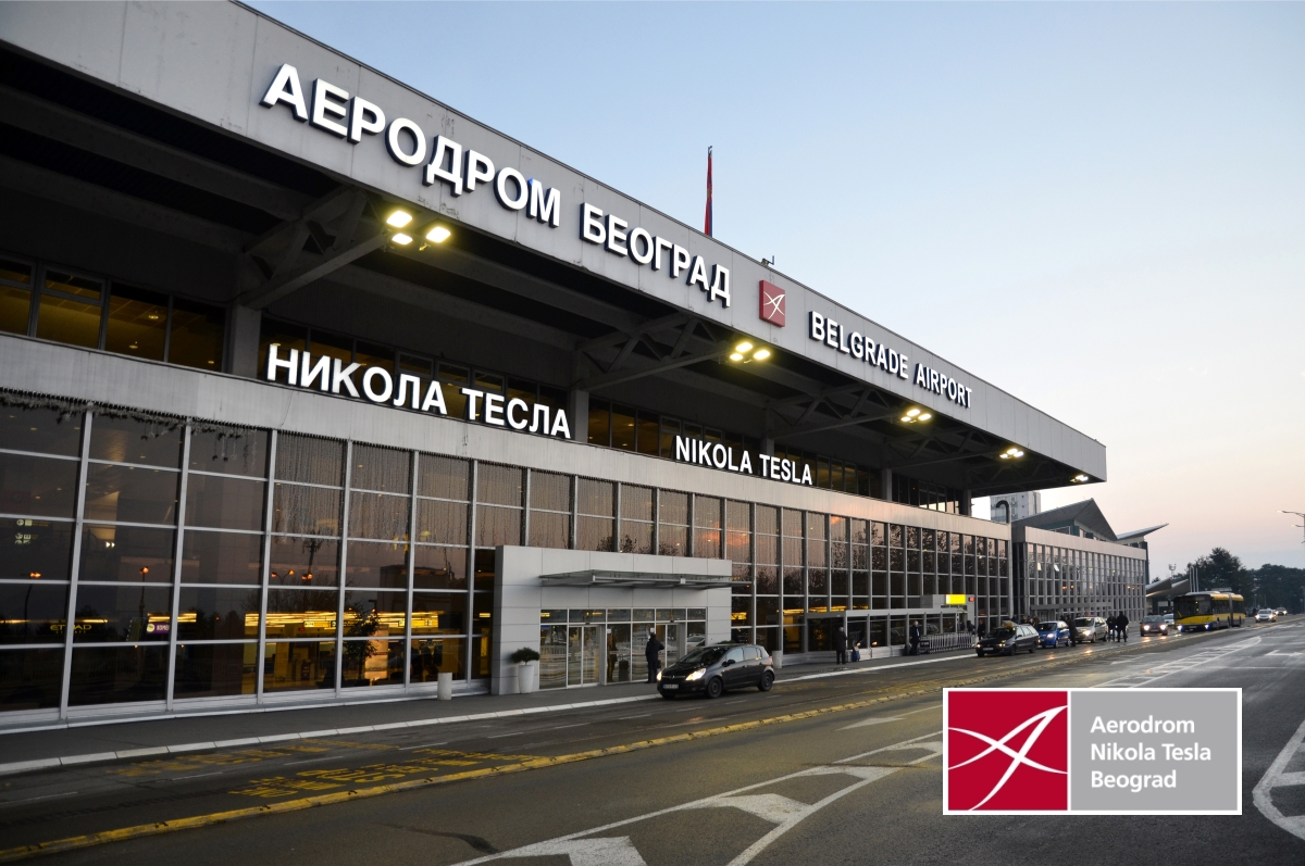 Belgrade_Nikola Tesla Airport_main entrance