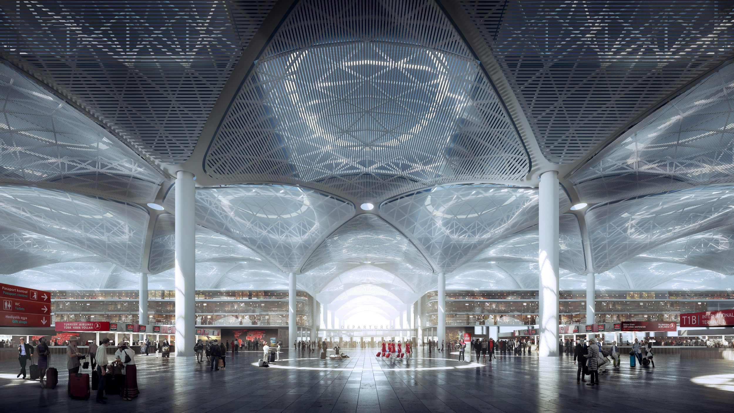 Istanbul_IST_new airport_Grimshaw