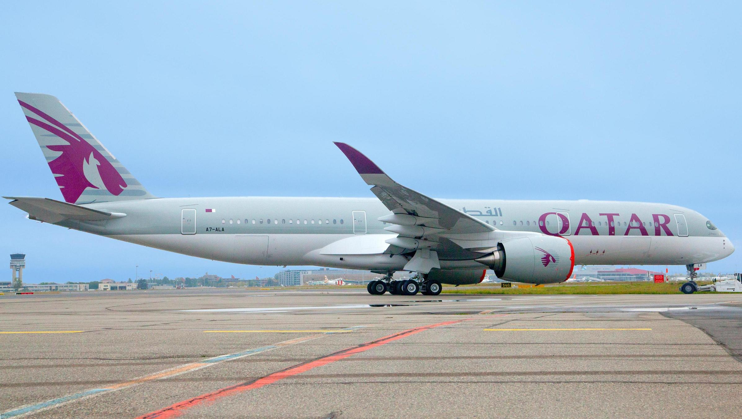 Qatar Airways_Airbus A350_first delivery_A7-ALA