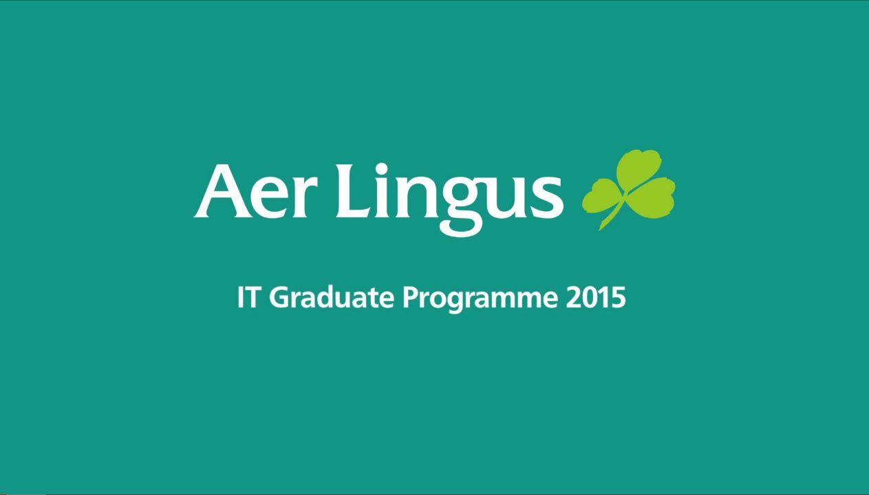 Aer Lingus - IT Graduate Programme