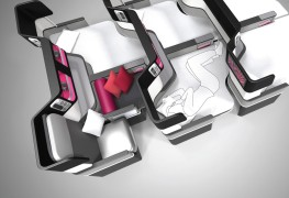 Paperclip Design Butterfly Seat Design