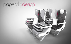 Paperclip Design Checkerboard seat layout