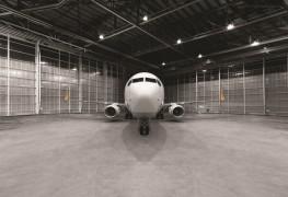 Pegasus_Boeing 737_hangar