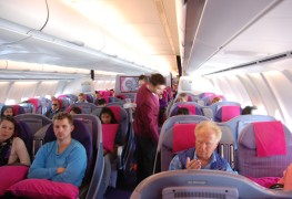 Thai Airways_Business Class_Airbus A340_Jan 2011