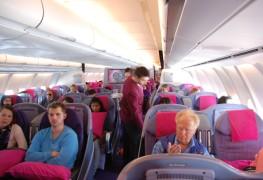 Thai Airways_Business Class_Airbus A340_Jan 2011