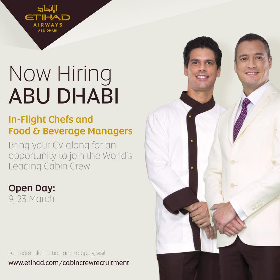 Etihad Airways_job_career_food chef beverage