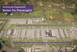 Heathrow third runway CGI - Taking Britain Further
