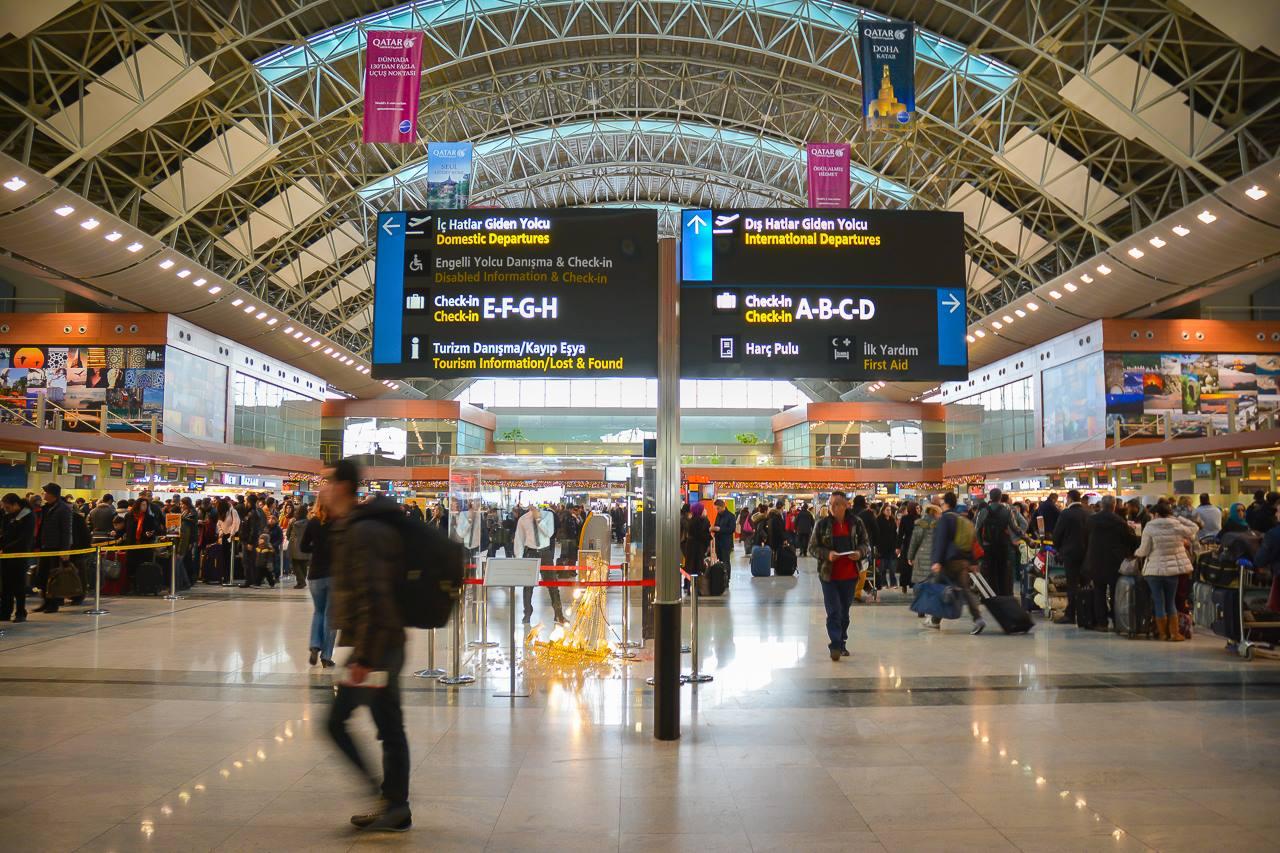 Istanbul_Sabiha Gokcen_SAW_Airport_Havalimani_Terminal Photo