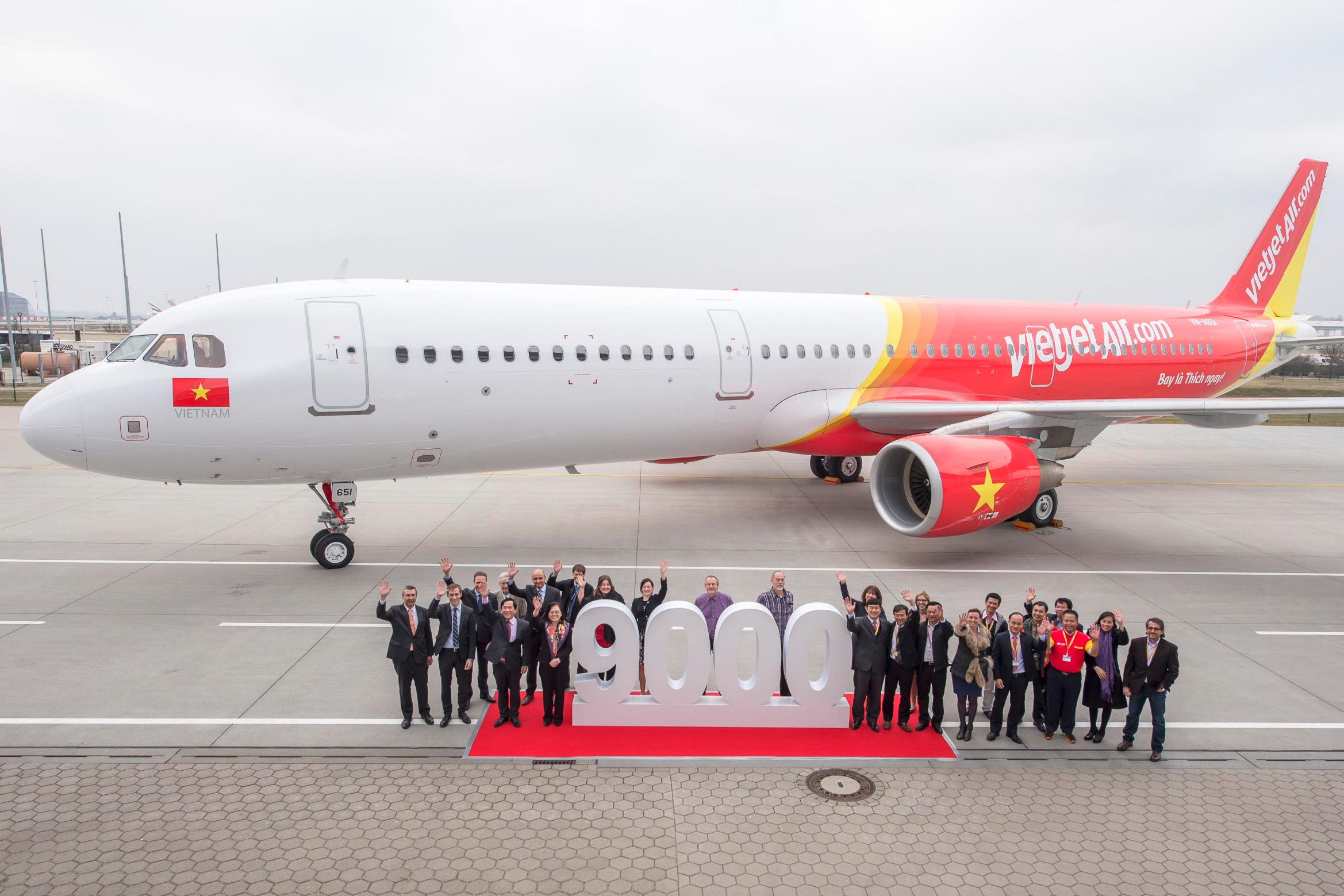 Airbus A321_VietJetAir_9000_aircraft_delivery