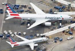 American Airlines_Boeing 777_Boeing 737