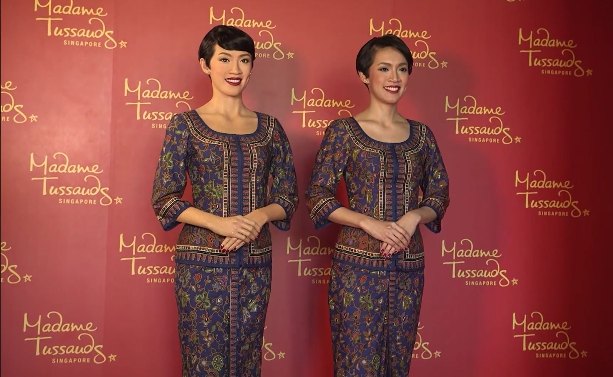 Making of new Singapore Girl waxworks by Madame Tussauds