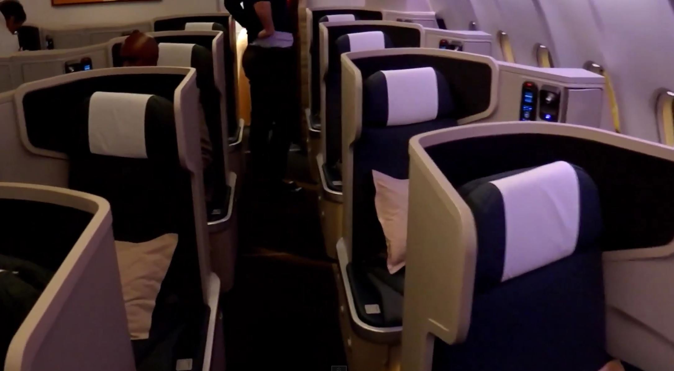 Cathay Pacific Business Class Doha - Hong Kong Flight Experience