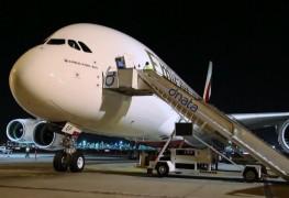Emirates Airbus A380 Pre-Service Check