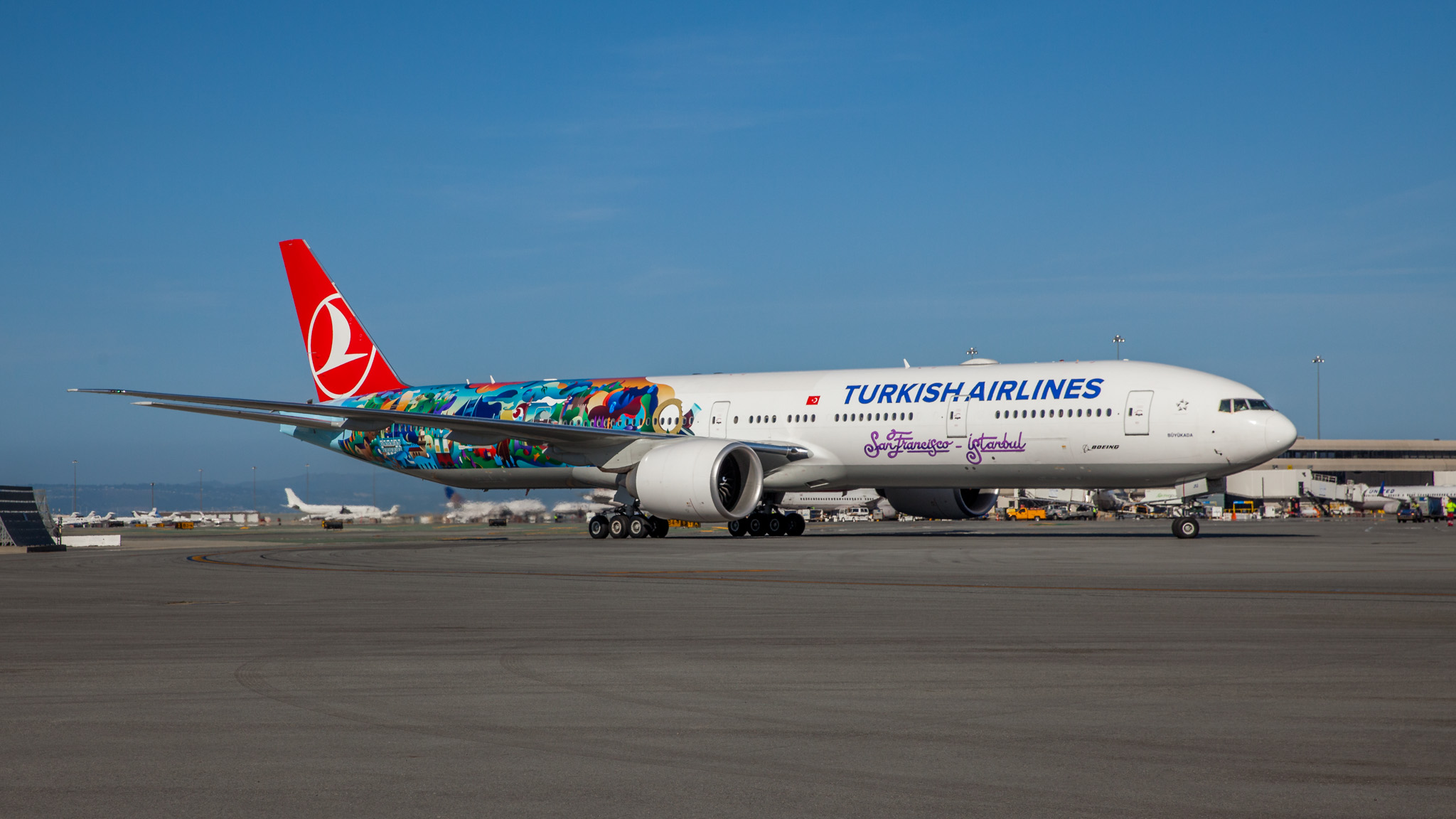 THY_Turkish Airlines_Boeing 777_Inaugural Flight_004