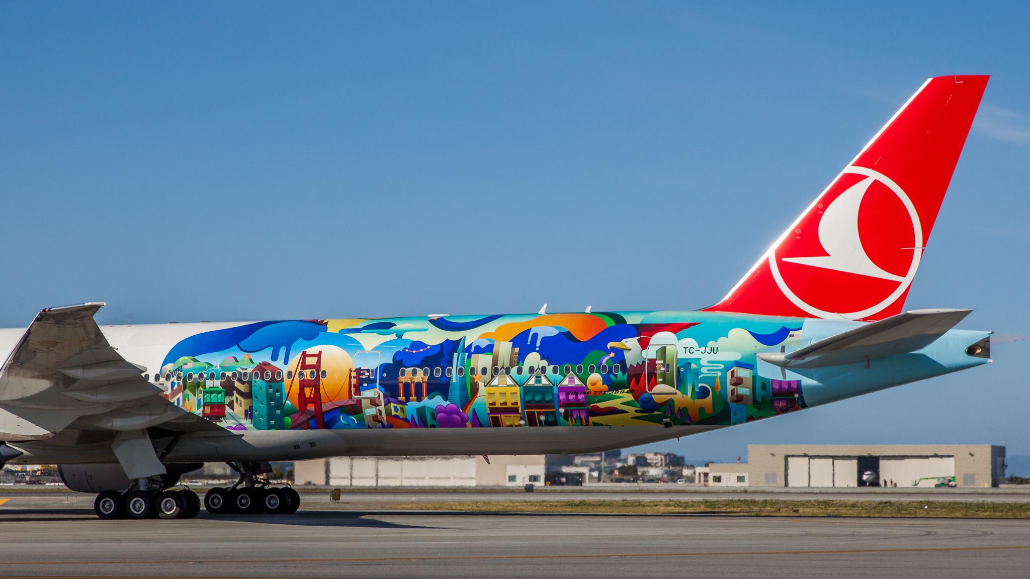 THY_Turkish Airlines_Boeing 777_Inaugural Flight