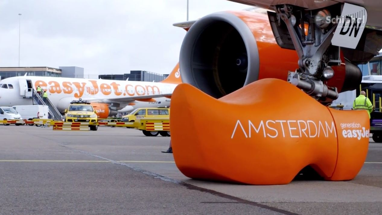easyJet Opened Base at Schiphol Airport