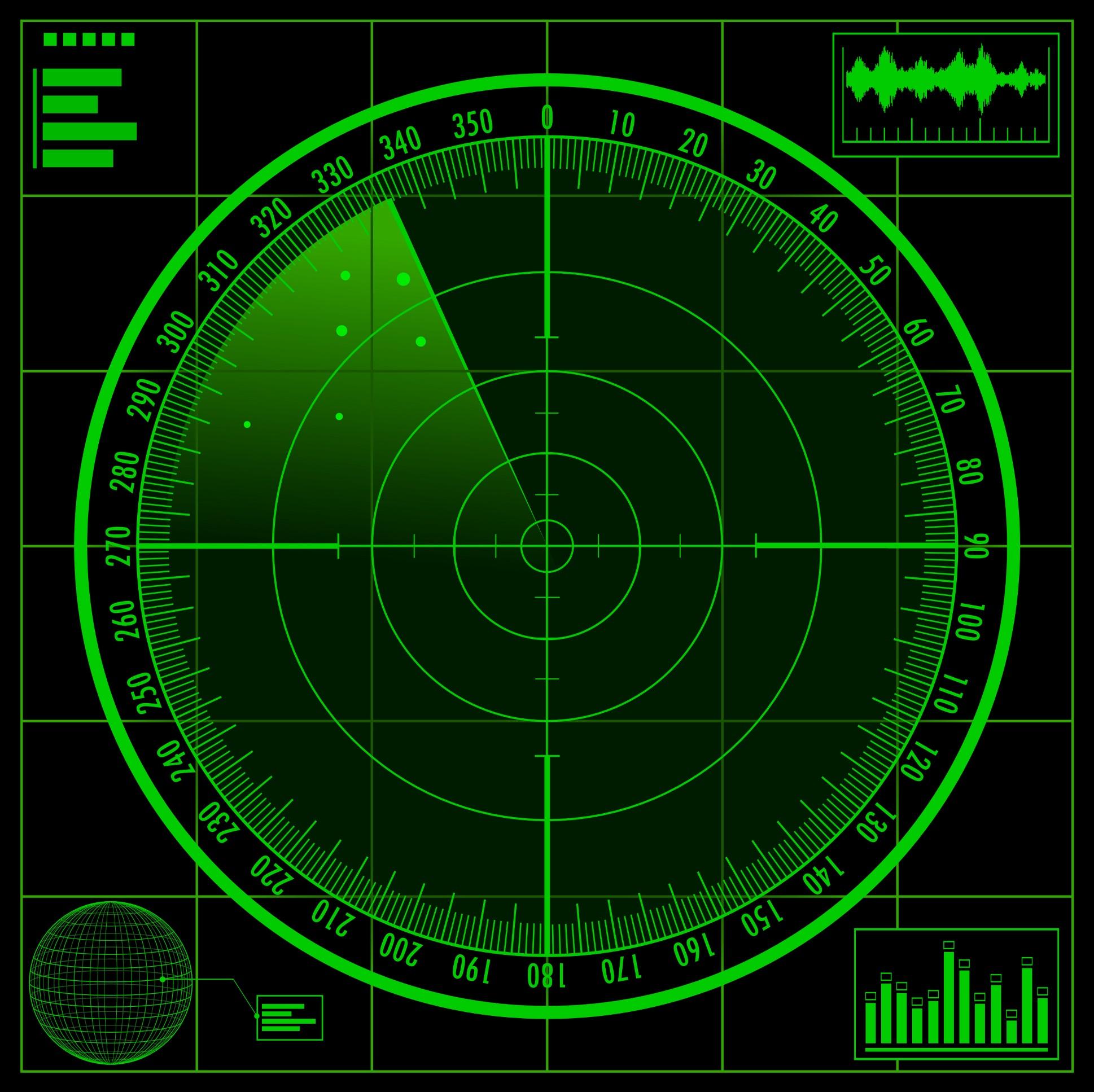 Air Traffic Control_radar_screen