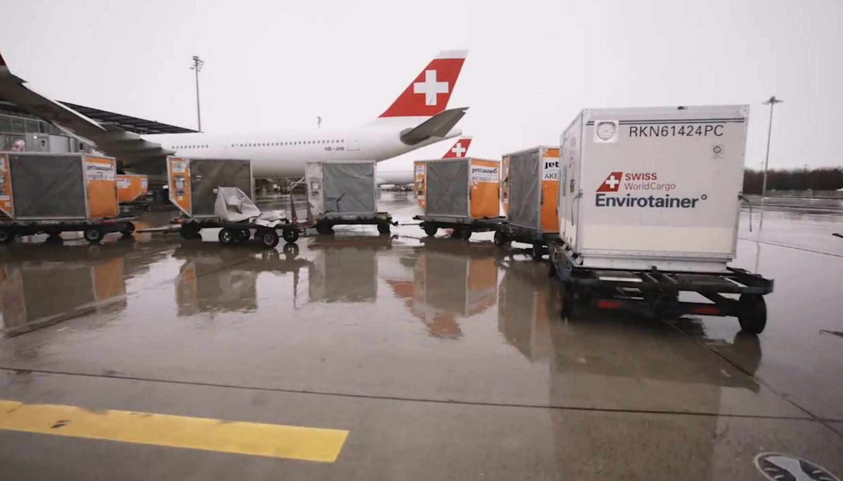 SWISS WorldCargo - Special containers for temperature-sensitive goods