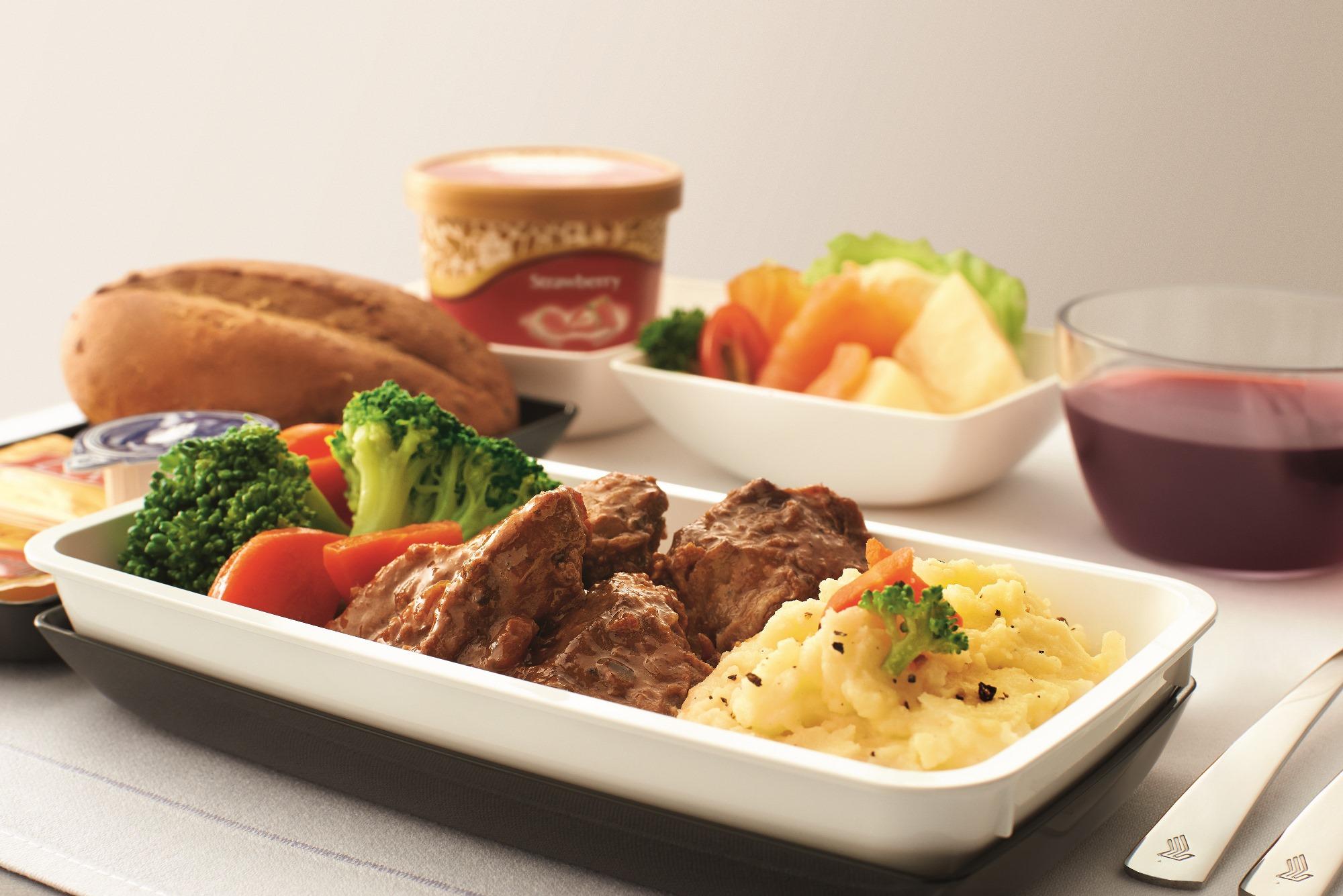 Singapore Airlines_Premium Economy_inflight food
