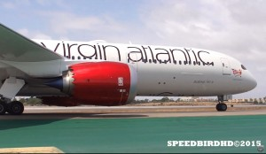 Virgin Atlantic Boeing 787-9 at Los Angeles International Airport