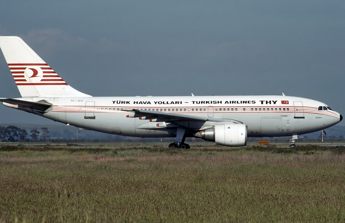 THY_Turkish-Airlines_Airbus A310_TC-JCU_1990