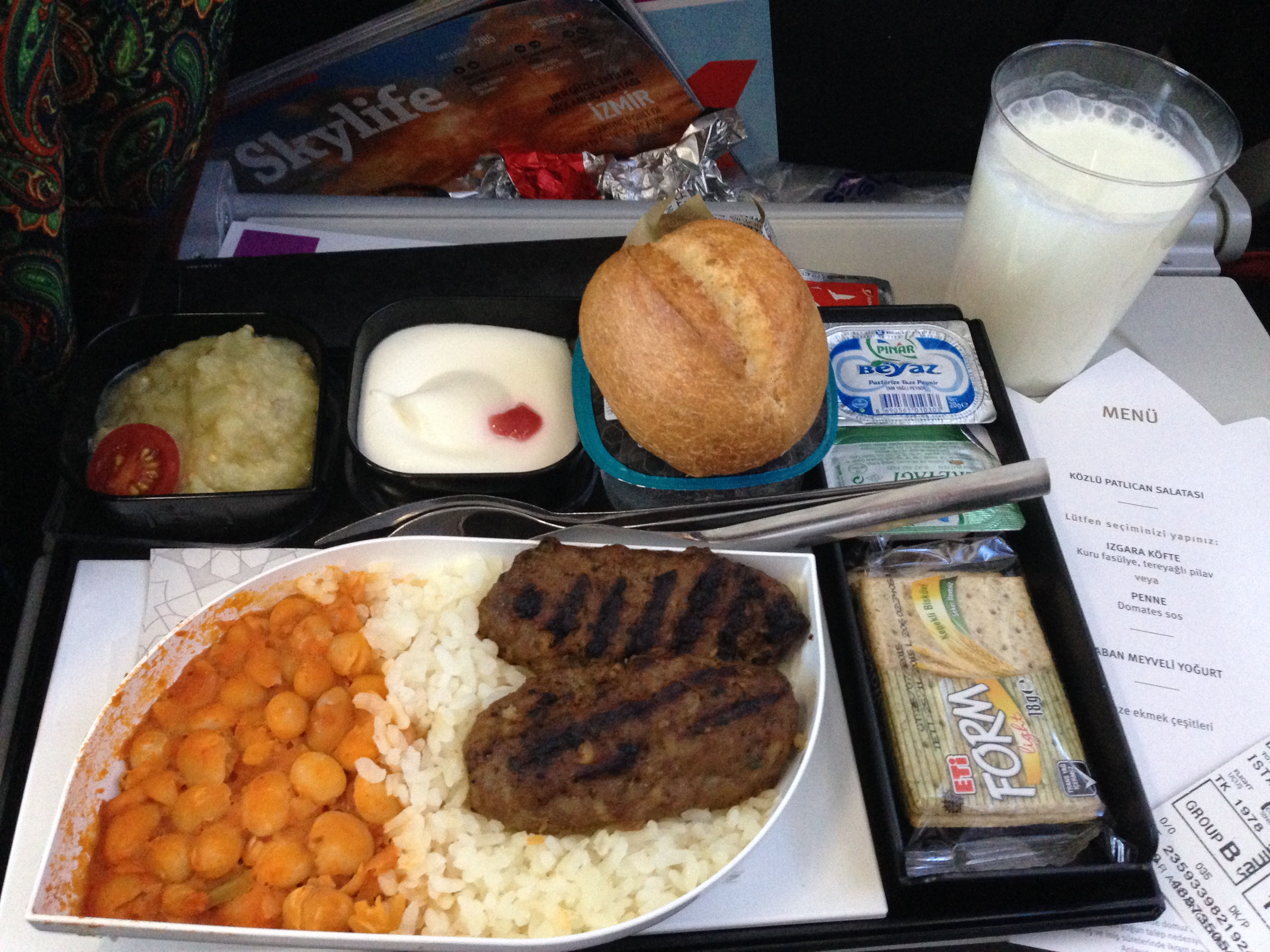 Turkish Airlines_THY_Inflight Food_Economy Class_Dublin_Aug 2015_002
