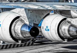 KLM_Boeing 747_Engine