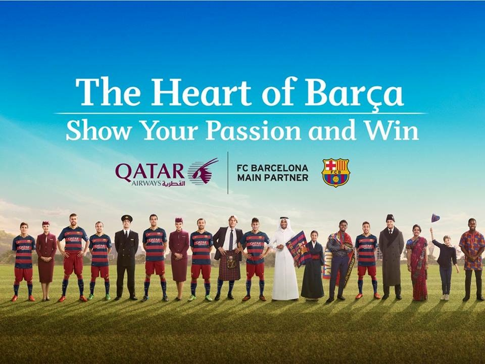 Qatar Airways - The Heart of Barça