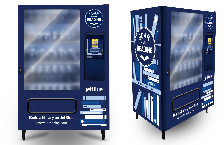 jetblue_soar with reading_vending machine