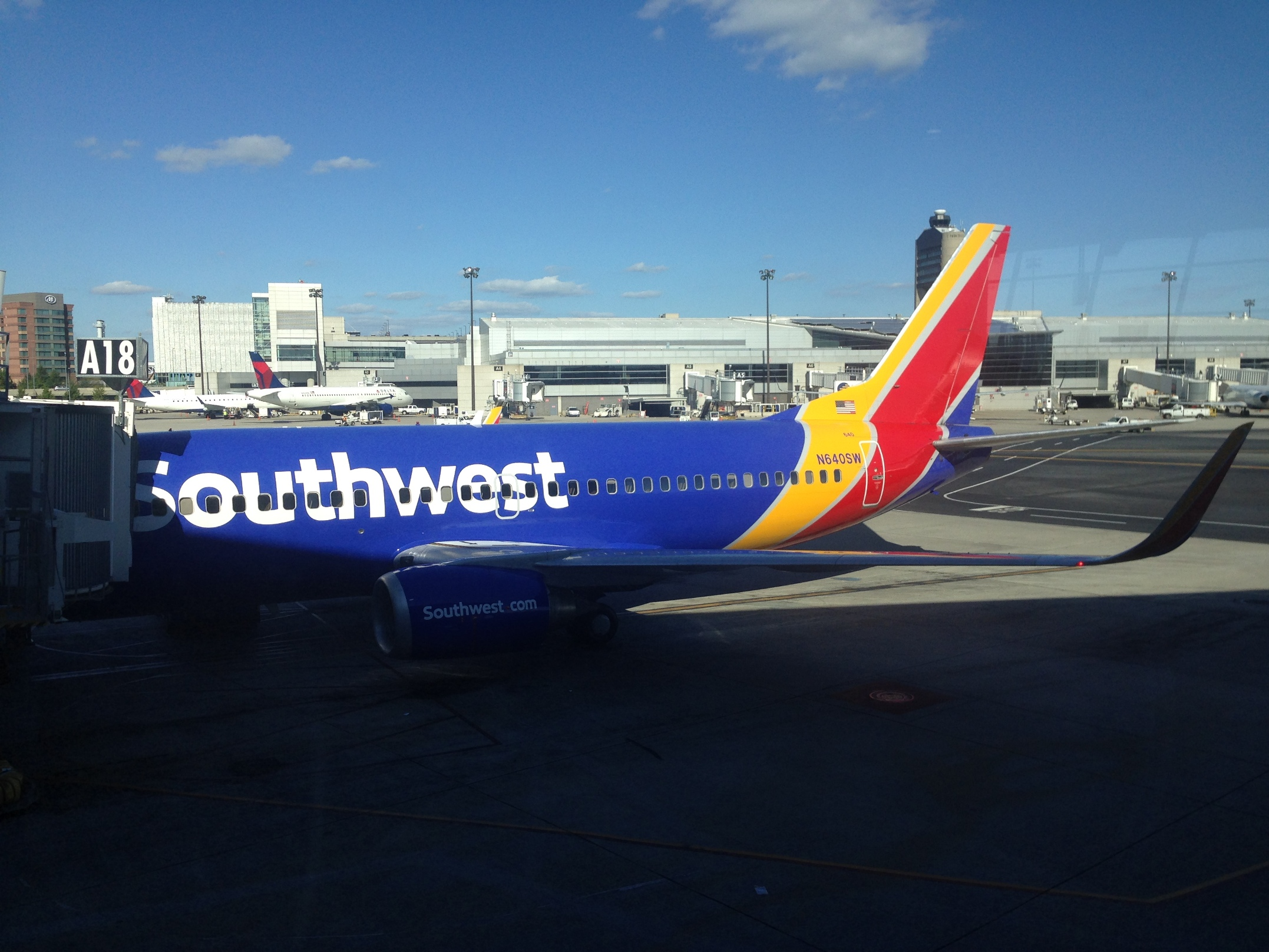 Southwest Airlines_Flight Experience_Baltimore-Boston_Oct 2015